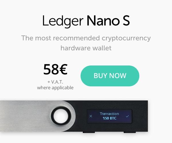 Ledger Nano S, miglior wallet 2018